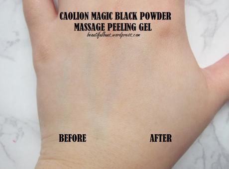 Review: Caolion Magic Black Powder Massage Peeling Gel