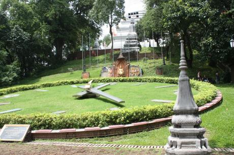 DAILY PHOTO: Three Garden Clocks [in Three Different Countries]