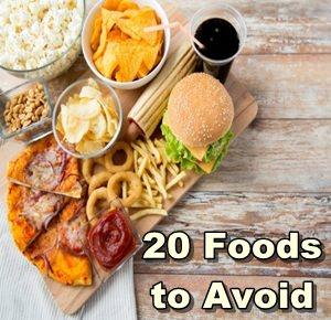 20 Foods to Avoid on a Ketogenic Diet