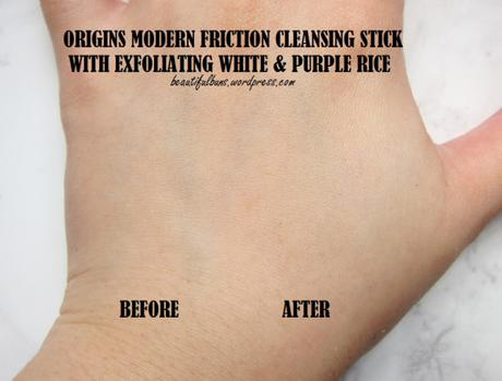 Review: Origins Modern Friction Cleansing Stick With Exfoliating White & Purple Rice