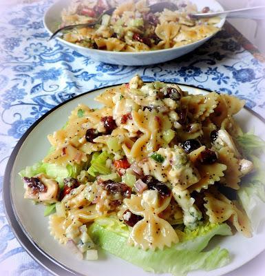 Turkey, Sour Cherry & Almond Pasta Salad