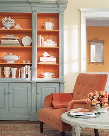 Bridget Beari Color Rule #2 - Temper Hot Colors with Cool Colors