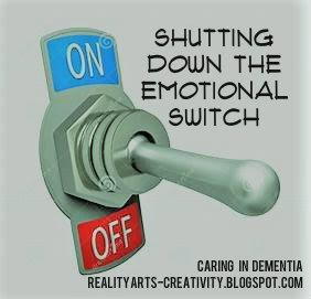 Caring in Dementia - Part of you has to shut down
