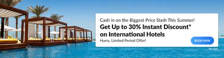Travel Internationally And Get Up To 30% OFF On Hotels!
