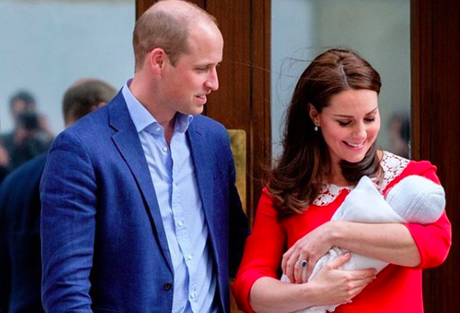 Prince William & Kate Middleton Son, Prince Louis Christening Next Month