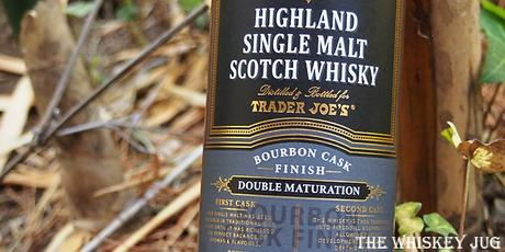 Trader Joes Highland Malt Bourbon Cask Finish Label