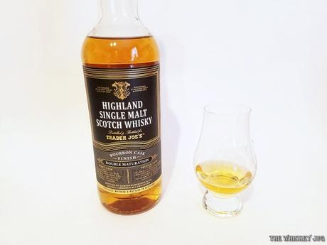 Trader Joes Highland Malt Bourbon Cask Finish Color