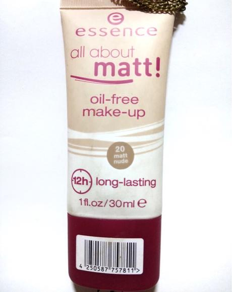essence all about matt oil-free makeup foundation review and swatches