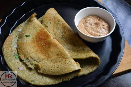 Green Gram Dosa and Peanut Chutney, How to make Moong Dal Dosa Recipe   Healthy Protein Packed Breakfast
