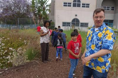 OBSERVING OUR OWN NATURAL HISTORY at Esperanza Elementary School, Los Angeles, CA