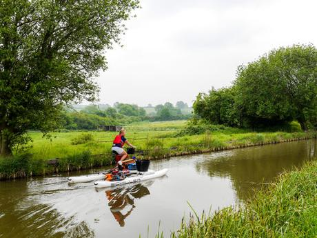 Help Clean Up England's Rivers and Canals on a Waterbike Adventure