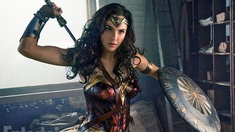 "First Look Pics: Gal Gadot & Chris Pine In ""Wonder Woman 1984"""