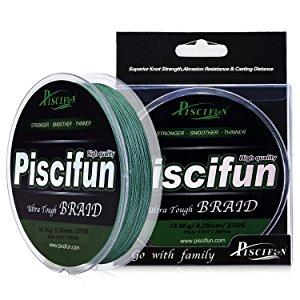 Piscifun Improved Braided Fishing Line Review