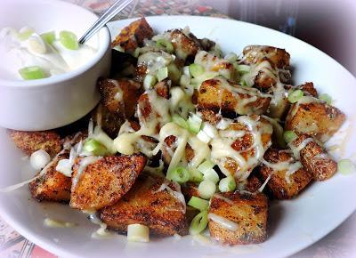 Roasted Potato Nachos