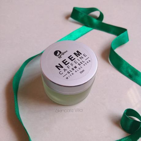 Mcaffine Neem Caffeine Glow Gel Review