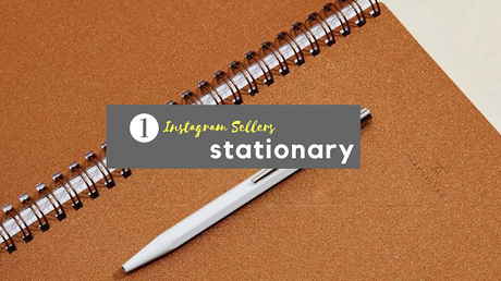 Shopping, Style and Us, India's Best Shopping and Self-Help Blog brings rich list of 50+ Instagram Sellers For Stationary