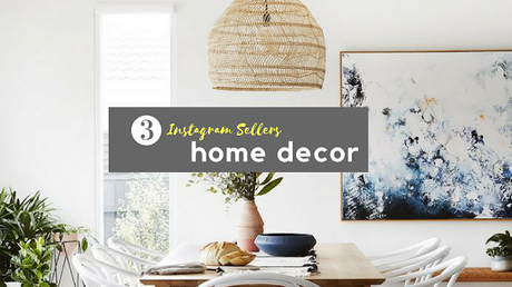 Shopping, Style and Us: India's Favourite Shopping and Self-Help Blog brings a rich list of 50+ Instagram Sellers For Home Decor