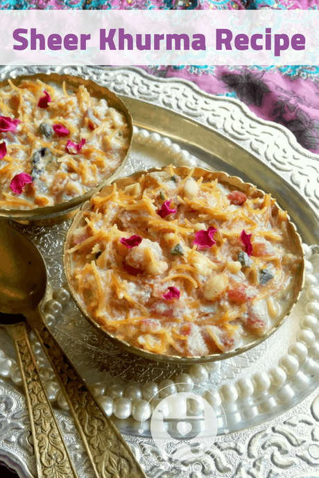 This Eid, treat your family to Sheer Kurma - a beautifully flavored dessert with the crunch of roast nuts and sweetness of dates!