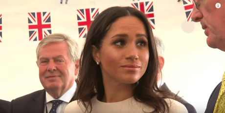 Meghan Markle Sparkles In Givenchy For Solo Engagement With The Queen