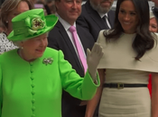 Meghan Markle Sparkles Givenchy Solo Engagement With Queen