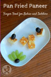 Pan Fried Paneer Cubes
