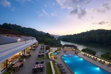 Panoramic-view-of-Mahaveli-river-from-Cinnamon, Sri Lanka