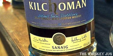 Kilchoman Sanaig 2017 Label