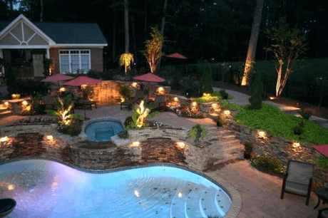 Use Landscaping Rocks To Hide Unsightly Fixtures