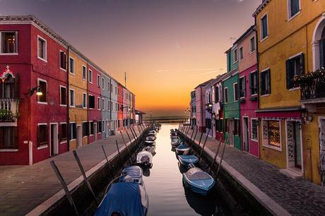 Destinations with colourful buildings- Burano-Italy