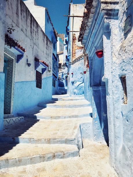 Destinations with colourful buildings- Chefchaouen- Morocco