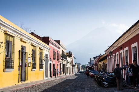 Destinations with colourful buildings-Antigua-Guatemala