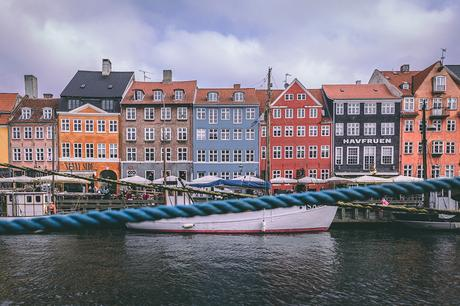 Destinations with colourful buildings-Copenhagen-Denmark