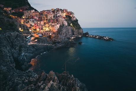 Destinations with colourful buildings-Manarola-Italy- Colourful coastal town