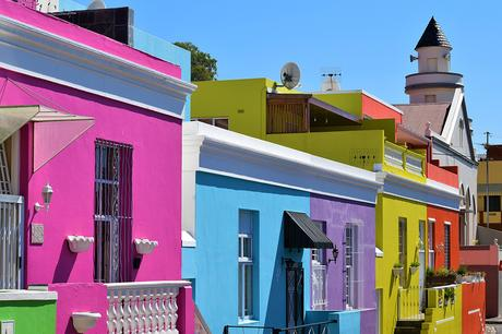 Destinations with colourful buildings- Bo-Kaap-Cape Town