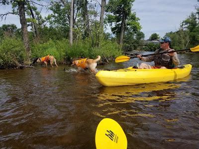 Jake Goes Kayaking!
