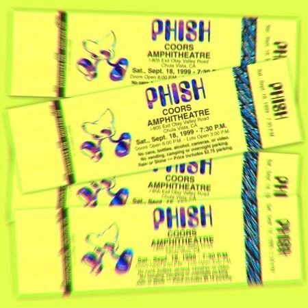 Phish: new archival release 09/18/1999 Coors Amphitheatre, Chula Vista, CA