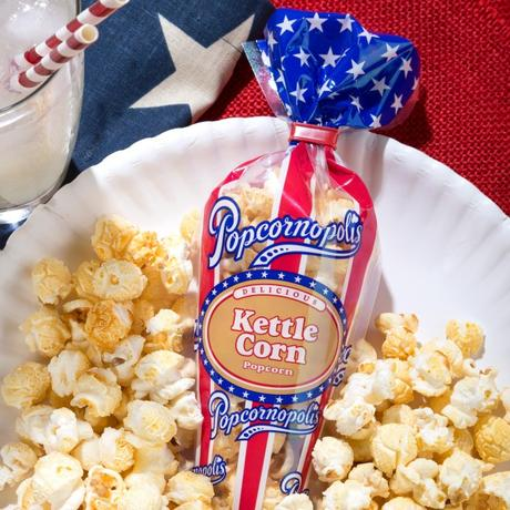 "Popcornopolis Launches ""Patriotic Popcorn"" Mini Cone Collection for Summer"