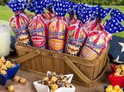 "Popcornopolis Launches ""Patriotic Popcorn"" Mini Cone Collection Summer"