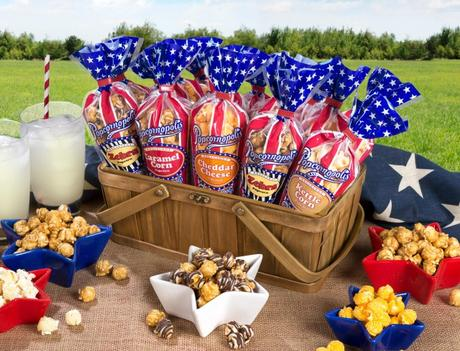 """Popcornopolis Launches """"Patriotic Popcorn"""" Mini Cone Collection for Summer"""