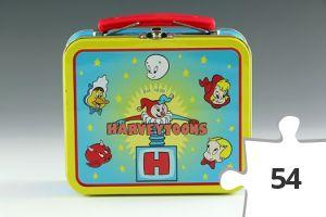 Jigsaw puzzle - Harveytoons mini lunch box