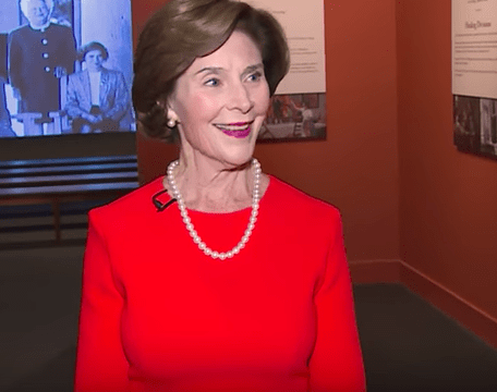 "Laura Bush on Family Separation at the Border ""It is immoral"""