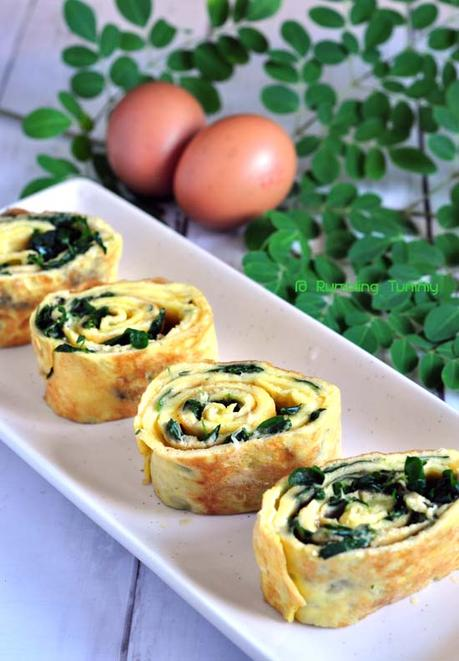 Moringa Egg Roll