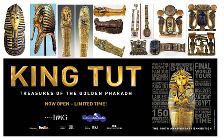 King Tut Exhibit California