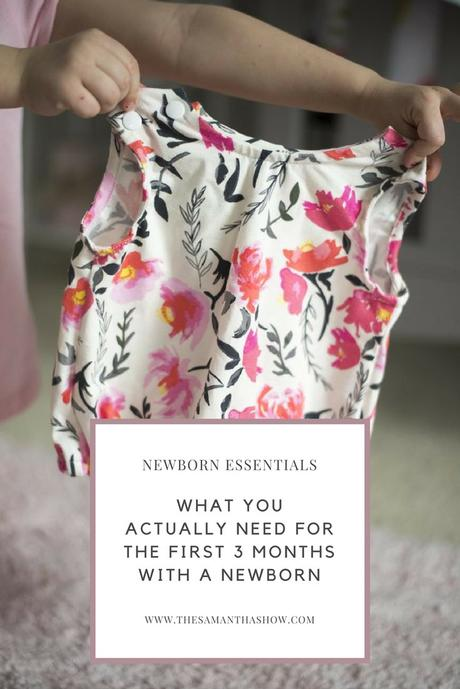 What you actually need for the first 3 months with a newborn