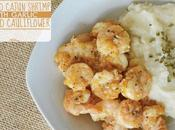Smoked Cajun Shrimp with Garlic Mashed Cauliflower