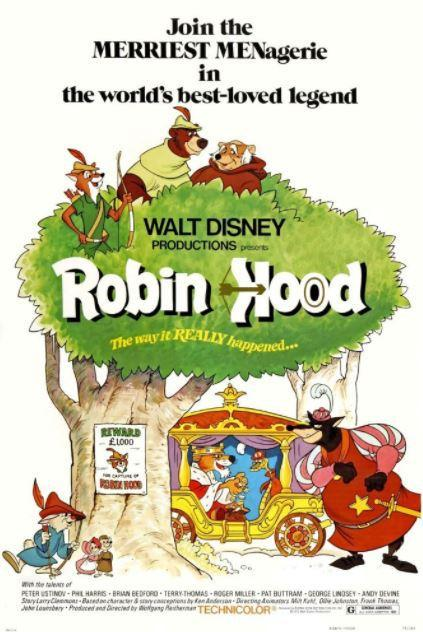 ABC Film Challenge – Animation – R – Robin Hood (1973)