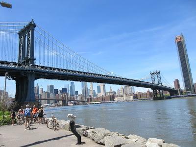 BROOKLYN BRIDGE PARK, New York: Guest Post by Gretchen Woelfle
