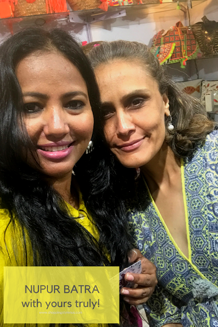 Shopping, Style and Us: India' Top Shopping and Selfhelp Blog - Yours truly with NUPUR of ABN (ANANAYA)