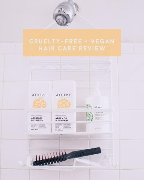 cruelty free and vegan shampoo review