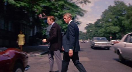 Steve McQueen's Navy Suits as Thomas Crown